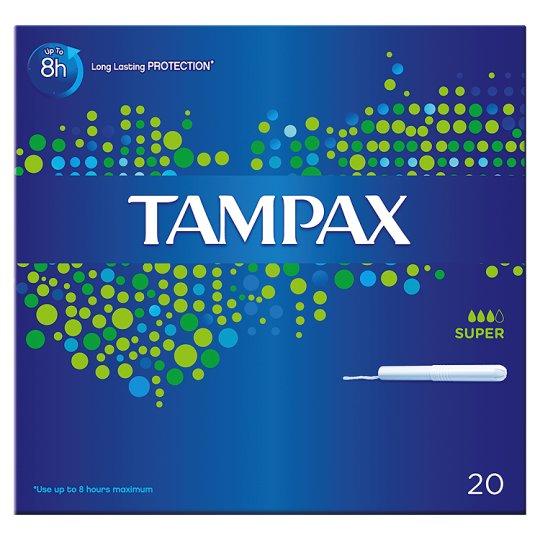 Tampax super - 20 st. tamponger