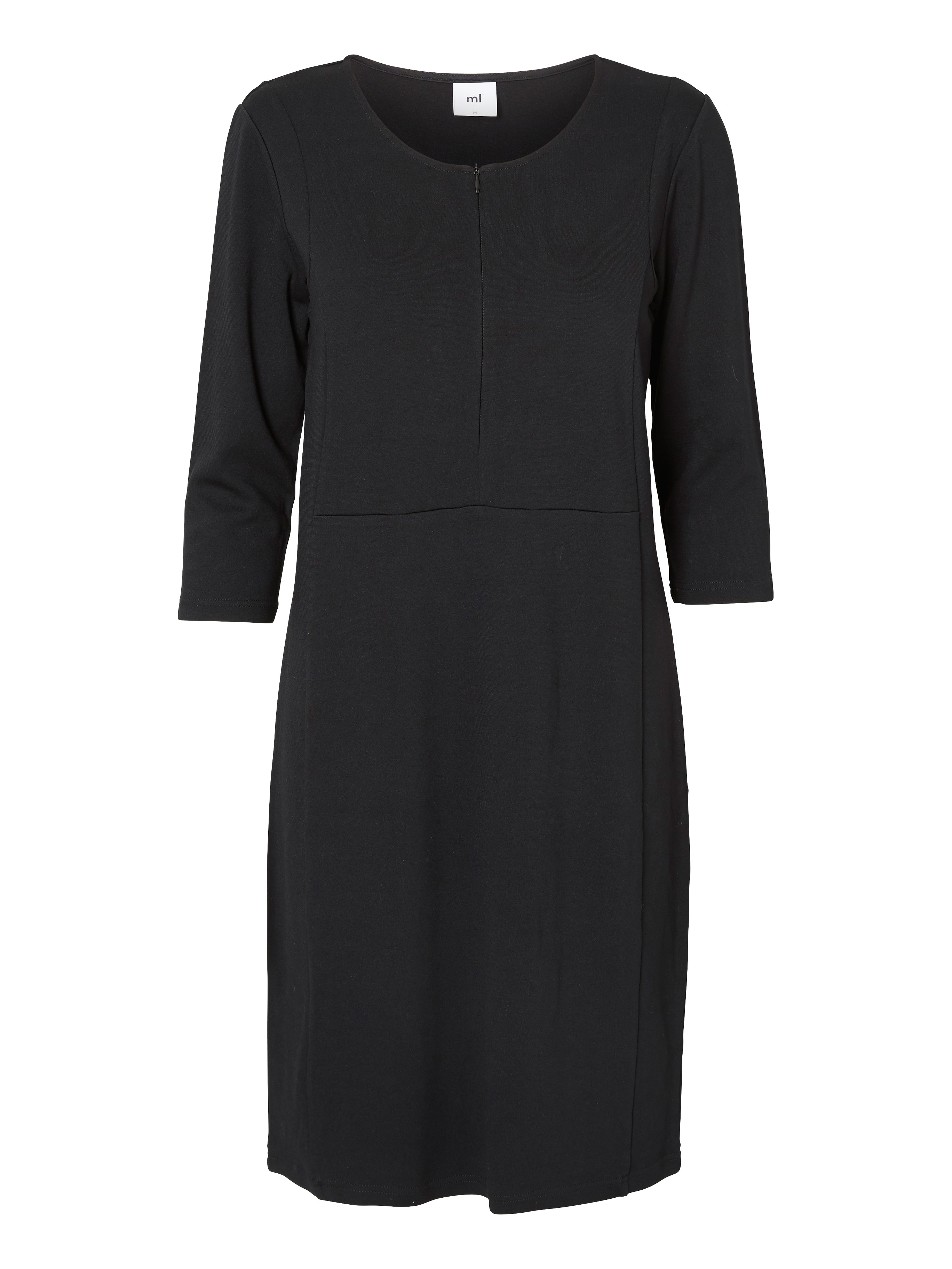 Amningsklänning Mirna - Jerseyklänning 3/4 - Mamalicious