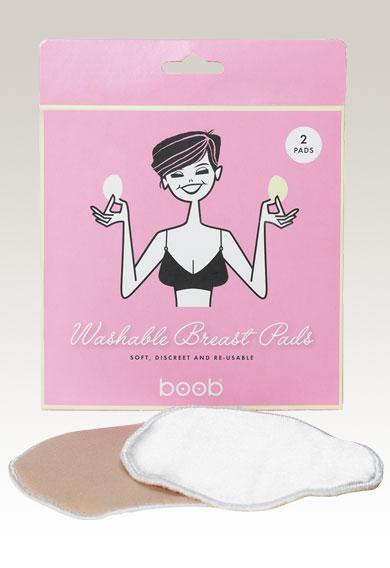 Tvättbara Amningsinlägg 2-pack - Boob Design