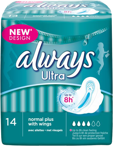 Always Ultra Bindor Normal Plus - 14 st.