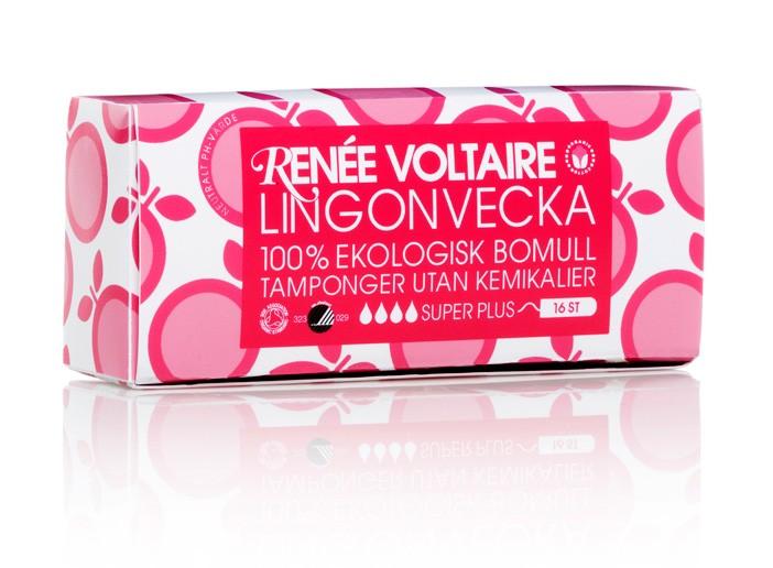 Lingonvecka Tampong Super+ 16st