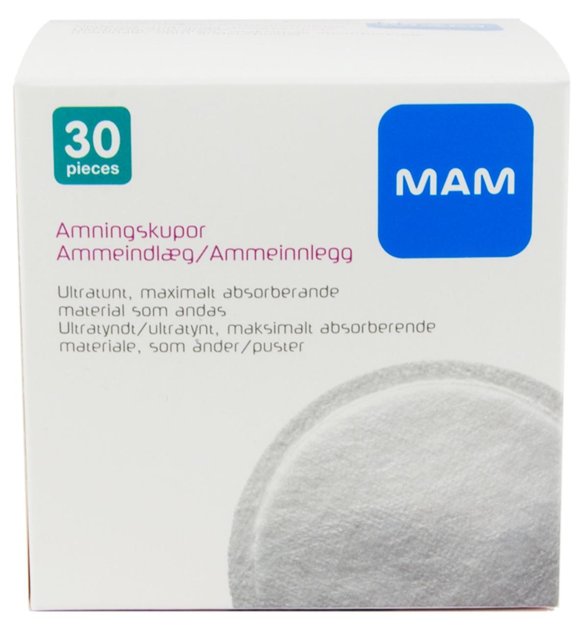 Amningsinlägg 30-pack - MAM