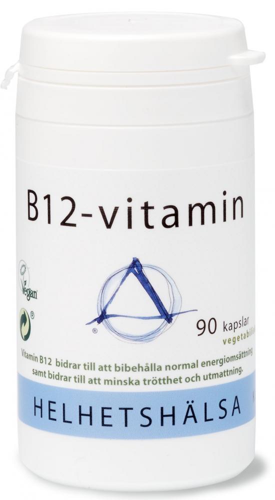 B12-vitamin, 90 kapslar - Helhetshälsa