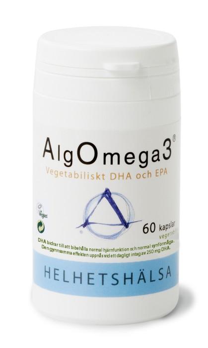 AlgOmega3 60 kapslar - Helhetshälsa