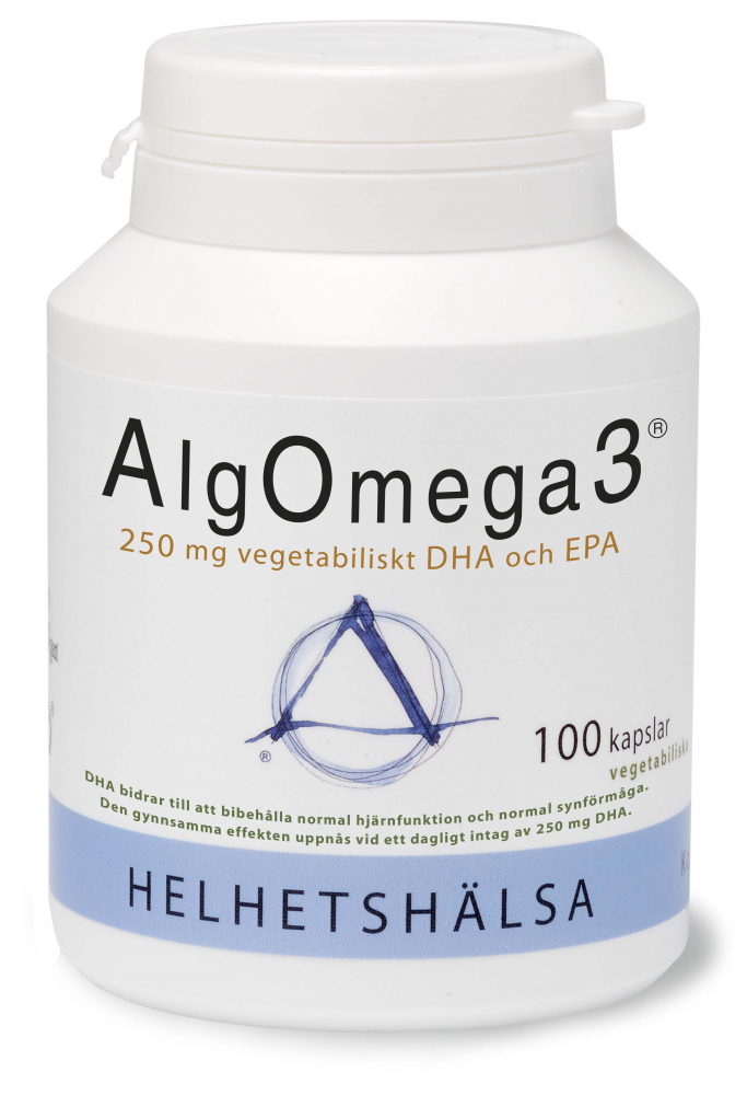 AlgOmega3® 100 kapslar - Helhetshälsa